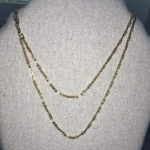 Stella & Dot Gold Link Chain
